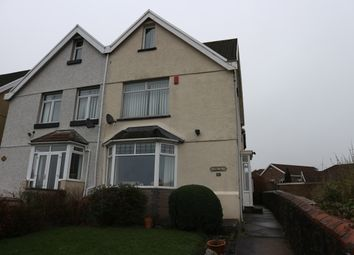 Thumbnail 3 bed semi-detached house for sale in Caeracca Villas, Pant, Merthyr Tydfil