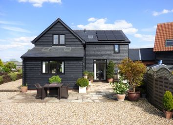 Thumbnail 3 bed barn conversion to rent in Throcking, Herts