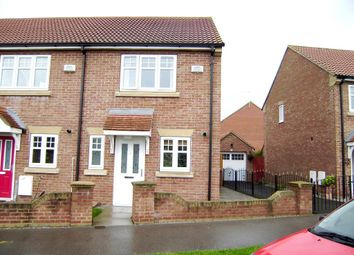 Thumbnail 2 bed end terrace house to rent in Cromwell Road, Leaf Sail Farm, Hedon