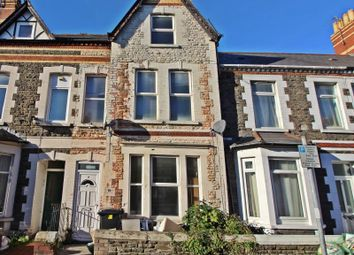Thumbnail 6 bed terraced house to rent in Diana Street, Roath, Cardiff