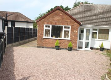 Thumbnail 2 bed semi-detached bungalow for sale in Spinney Road, Burbage, Hinckley