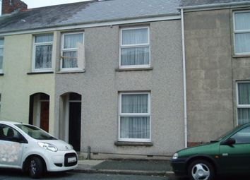 Thumbnail 3 bed property to rent in Wellington Street, Pembroke Dock