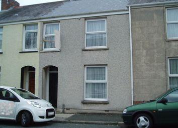Thumbnail 3 bedroom property to rent in Wellington Street, Pembroke Dock
