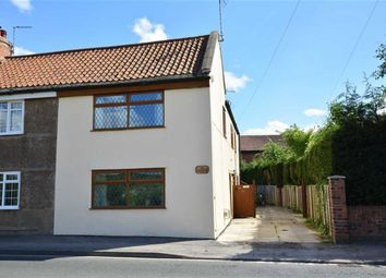 Thumbnail 4 bed semi-detached house for sale in Main Road, Hambleton, Selby
