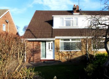 Thumbnail 3 bed semi-detached house for sale in Canada Drive, Cherry Burton, Beverley