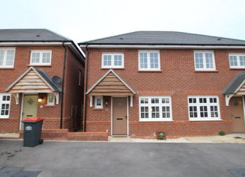 Thumbnail 3 bed semi-detached house for sale in Bowler Close, Atherstone