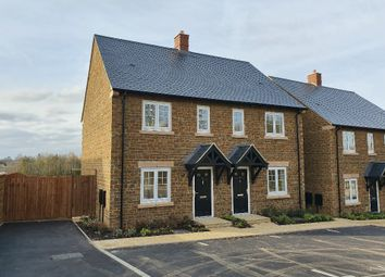 Thumbnail 2 bed semi-detached house for sale in Ironstone Place, Bodicote, Banbury
