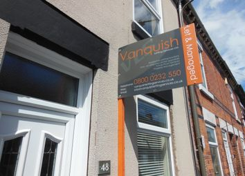 Thumbnail 2 bedroom terraced house to rent in Leicester Street, Derby