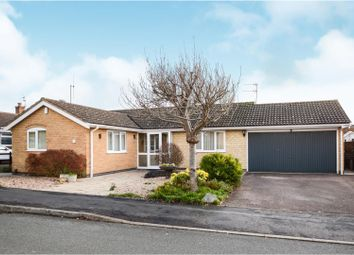 Thumbnail 3 bed detached bungalow for sale in Wyndham Road, Loughborough