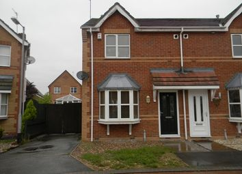 Thumbnail 2 bed semi-detached house to rent in Parcevall Drive, Kingswood, Hull, East Yorkshire