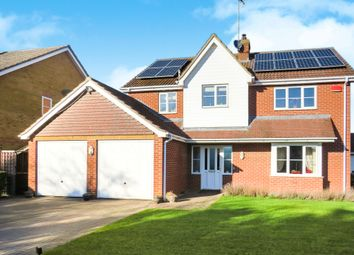 Thumbnail 4 bedroom detached house for sale in Honey Lane, Chatteris