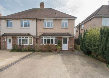 Thumbnail 3 bed semi-detached house for sale in Bridge Road, Chichester