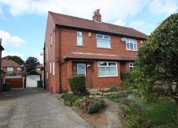 Thumbnail 3 bed semi-detached house for sale in Maple Avenue, Pontefract