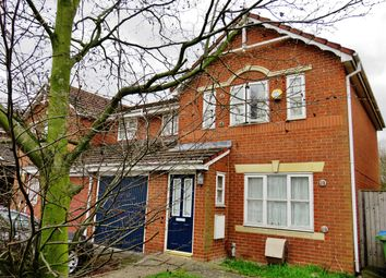Thumbnail 3 bed semi-detached house for sale in Newmarsh Road, Thamesmead, London