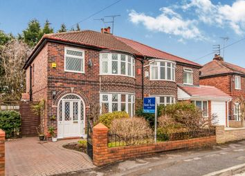 Thumbnail 3 bed semi-detached house for sale in Moor Park Road, Didsbury, Manchester