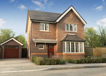 "Thumbnail 4 bed detached house for sale in ""The Hallam"" at London Road, Holmes Chapel"