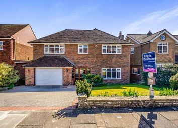 Thumbnail 4 bed detached house for sale in Gorham Avenue, Rottingdean, Brighton, East Sussex