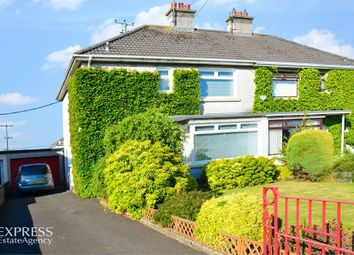 Thumbnail 3 bed semi-detached house for sale in Chestnut Grove, Ballymoney, County Antrim