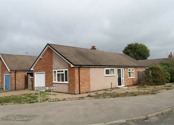 Thumbnail 2 bed detached bungalow for sale in Greenacres Drive, Lutterworth