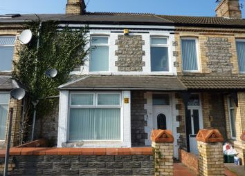 Thumbnail 1 bed terraced house to rent in Churchill Terrace, Barry
