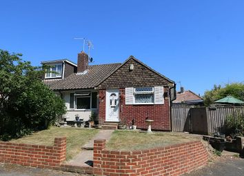 Thumbnail 2 bed semi-detached bungalow for sale in Brookside Avenue, Polegate, East Sussex