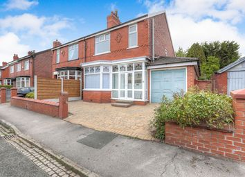 Thumbnail 3 bedroom semi-detached house for sale in Queens Road, Hazel Grove, Stockport, Greater Manchester