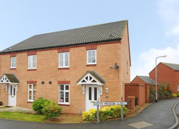Thumbnail 3 bedroom end terrace house to rent in South Meadow Close, Upton, Northampton
