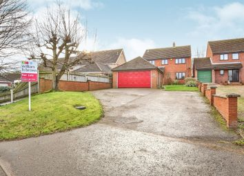 Thumbnail 4 bedroom detached house for sale in West End, Costessey, Norwich