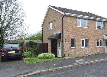 Thumbnail 2 bed semi-detached house to rent in Milton Close, Priory Park, Haverfordwest