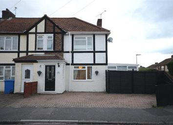 Thumbnail 3 bed semi-detached house for sale in Clive Road, Aldershot, Hampshire