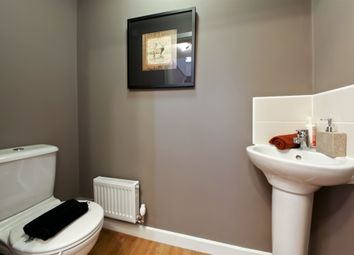 "Thumbnail 3 bed detached house for sale in ""The Hatfield"" at Northborough Way, Boulton Moor, Derby"
