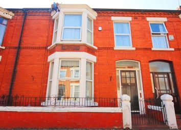 Thumbnail 4 bedroom terraced house for sale in Karslake Road, Mossley Hill, Liverpool