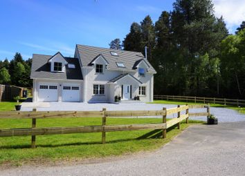 Thumbnail 5 bed detached house for sale in Kintessack, Forres