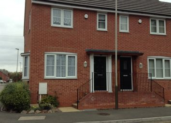 Thumbnail 2 bed end terrace house for sale in Hall Lane, Leicester