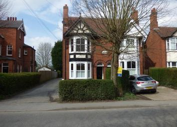 Thumbnail 4 bed semi-detached house for sale in Nottingham Road, Ashby De La Zouch, Leicestershire