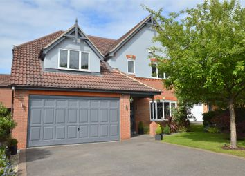 Thumbnail 4 bed detached house for sale in Radbourne Gate, Mickleover, Derby