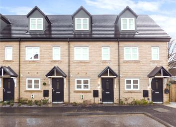 Thumbnail 3 bed town house for sale in Water Meadow Drive, Denholme, West Yorkshire