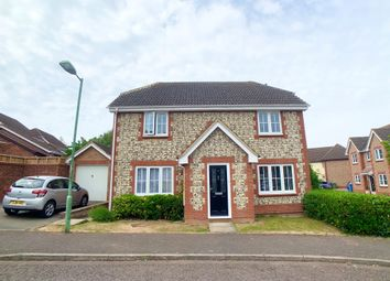 Thumbnail 3 bed detached house for sale in Spire Chase, Sudbury