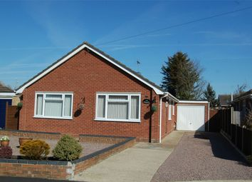 Thumbnail 3 bed detached bungalow for sale in Poplar Crescent, Bourne, Lincolnshire