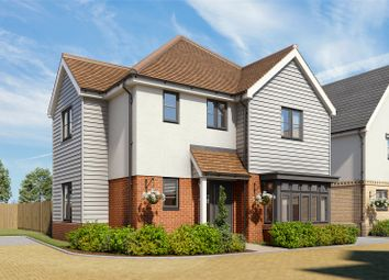 Thumbnail 4 bed detached house for sale in Woodside Place, Dry Street, Langdon Hills, Basildon