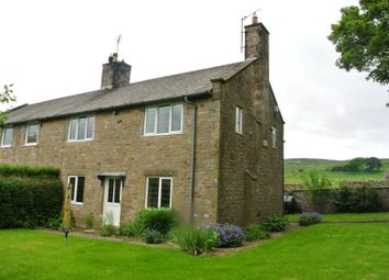 Thumbnail 3 bed semi-detached house to rent in Carperby, Leyburn