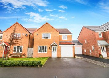 Thumbnail 4 bed detached house for sale in Alnwick Way, Amble, Morpeth