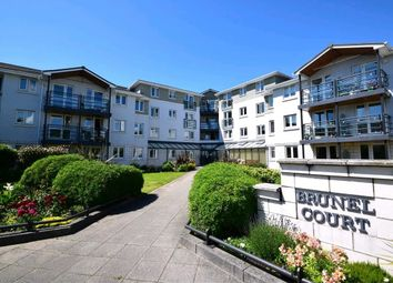 Thumbnail 1 bed flat for sale in Brunel Court, Harbour Road, Portishead