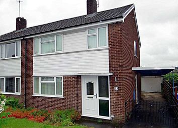 Thumbnail 3 bedroom semi-detached house to rent in Langtree Avenue, Old Whittington, Chesterfield