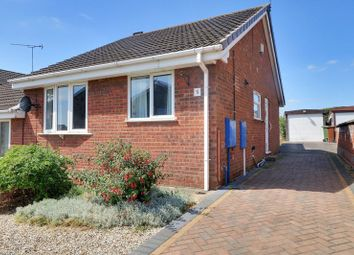 Thumbnail 2 bed semi-detached bungalow for sale in Lambourne Rise, Bottesford, Scunthorpe