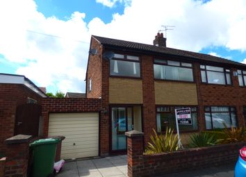 Thumbnail 3 bed semi-detached house to rent in Broadgate Avenue, St Helens