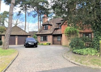 Thumbnail 5 bed detached house to rent in Oldfield Woods, Maybury Hill, Woking, Surrey
