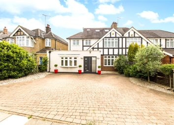 Thumbnail 4 bed semi-detached house for sale in Gurney Court Road, St. Albans, Hertfordshire