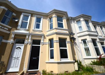 Thumbnail 2 bed flat to rent in Old Park Road, Plymouth