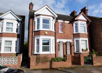 Thumbnail 3 bed semi-detached house to rent in Hardwick Road, Bedford